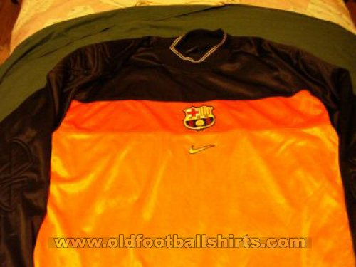 Barcelona Goalkeeper football shirt 1999 - 2000