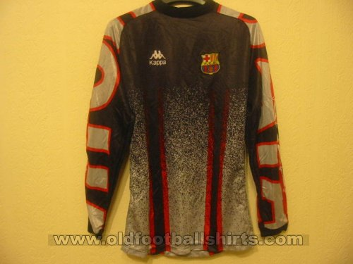 Barcelona Goalkeeper football shirt 1996 - 1997