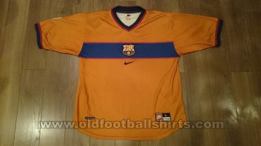 Barcelona Away football shirt 1998 - 2000