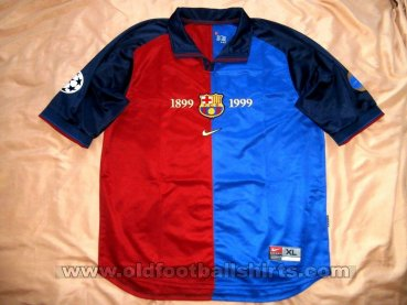 Barcelona Home football shirt 1999 - 2000