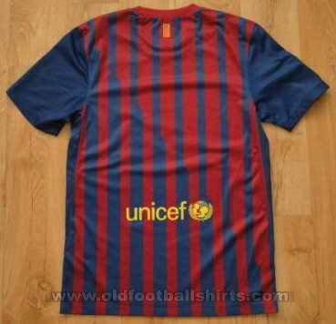 Barcelona Home football shirt 2011 - 2012