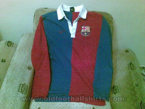Barcelona Retro Replicas football shirt 1951 - 1952
