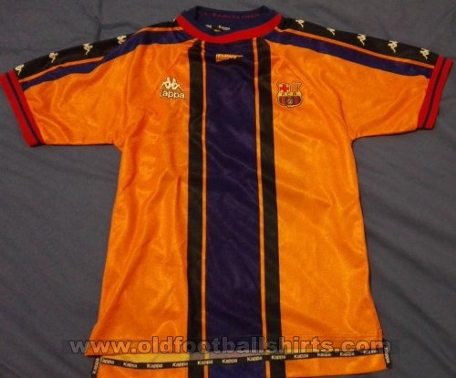 Barcelona Away football shirt 1996 - 1997