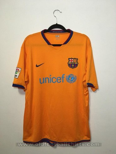Barcelona Away football shirt 2006 - 2008