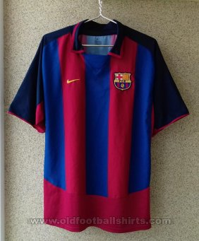 Barcelona Home football shirt 2003 - 2004
