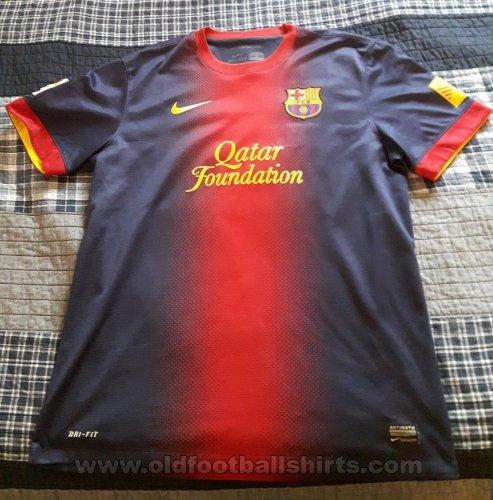 Barcelona Home football shirt 2012 - 2013