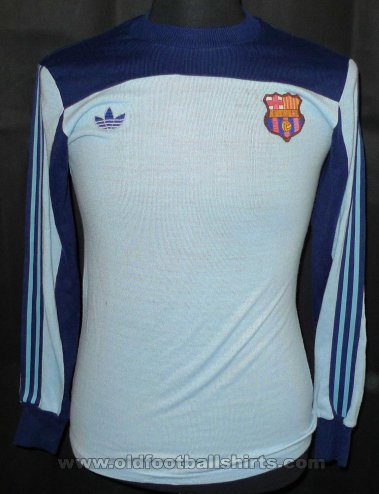 Barcelona Goalkeeper football shirt 1981 - 1982