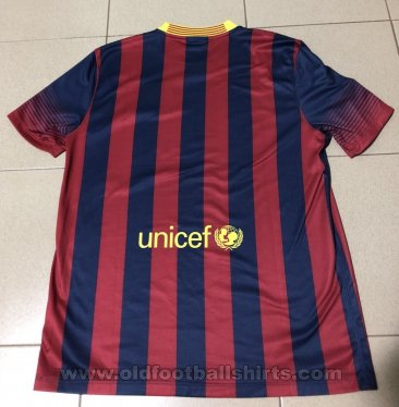 Barcelona Home football shirt 2013 - 2014