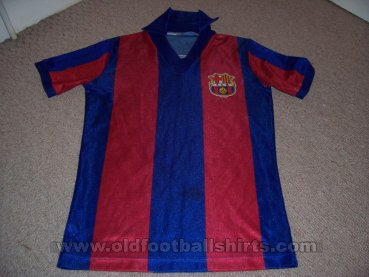 Barcelona Retro Replicas football shirt 1984 - 1989