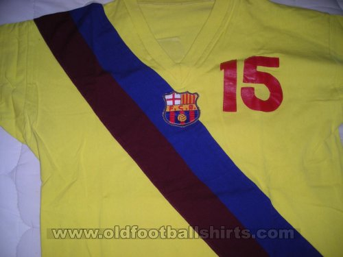 Barcelona Away football shirt 1973 - 1977