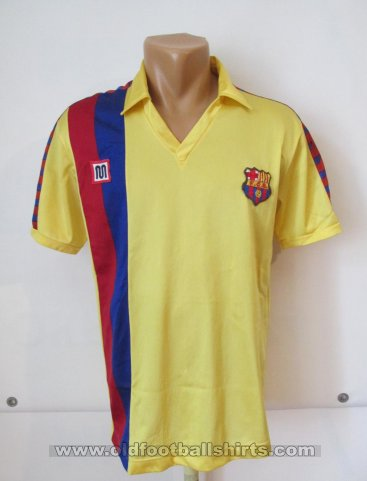 Barcelona Away football shirt 1984 - 1989