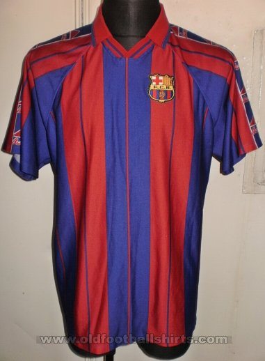 Barcelona Retro Replicas football shirt 1997 - 1998