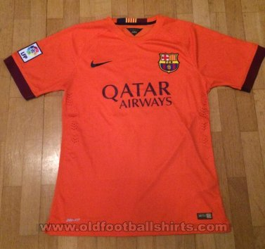 Barcelona Away football shirt 2014 - 2015