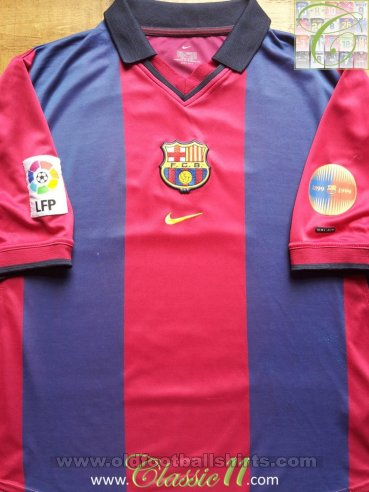 Barcelona Home football shirt 2000 - 2001