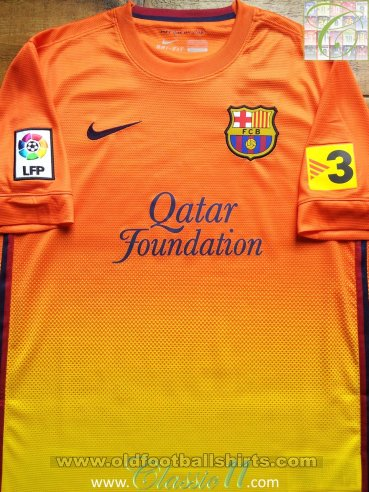 Barcelona Away football shirt 2012 - 2013