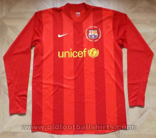 Barcelona Goalkeeper football shirt 2007 - 2008