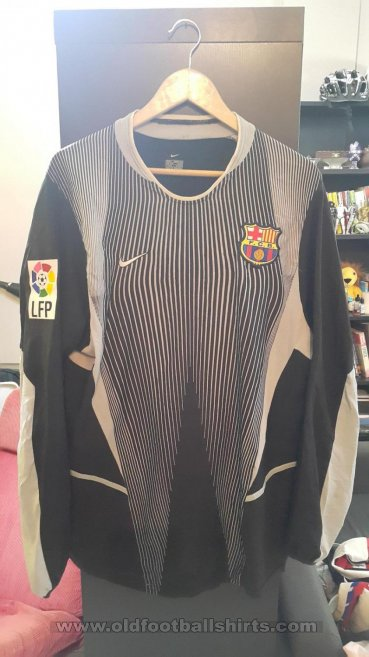 Barcelona Goalkeeper football shirt 2003 - 2004