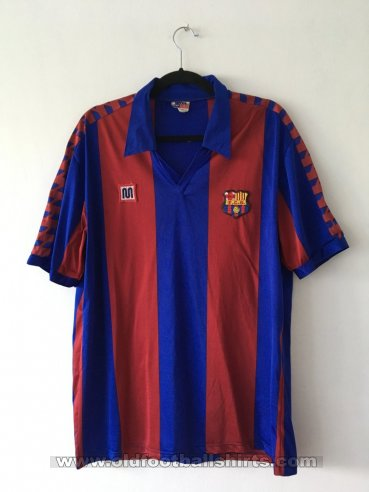 Barcelona Home football shirt 1984 - 1989