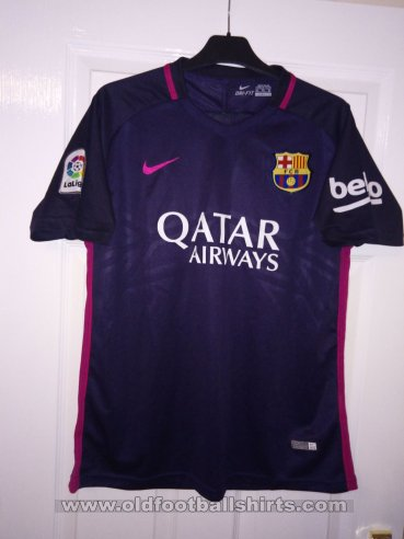 Barcelona Away football shirt 2016 - 2017