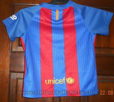 Barcelona Home football shirt 2016 - 2017