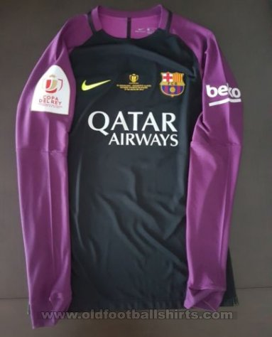 Barcelona Goalkeeper football shirt 2016 - 2017