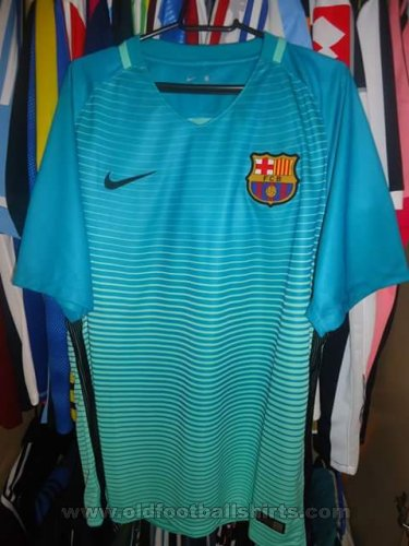 Barcelona Third football shirt 2016 - 2017