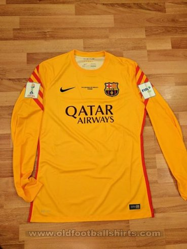 Barcelona Goalkeeper football shirt 2015 - 2016