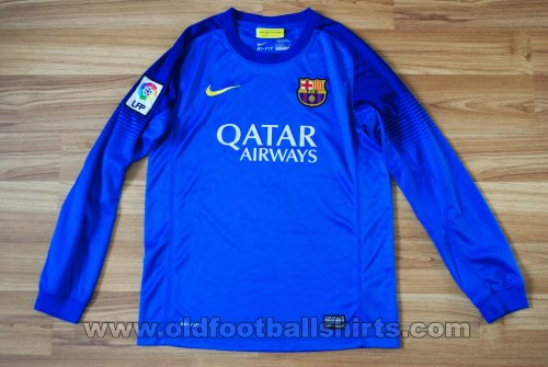 Barcelona Goalkeeper football shirt 2013 - 2014