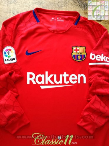 Barcelona Goalkeeper football shirt 2017 - 2018