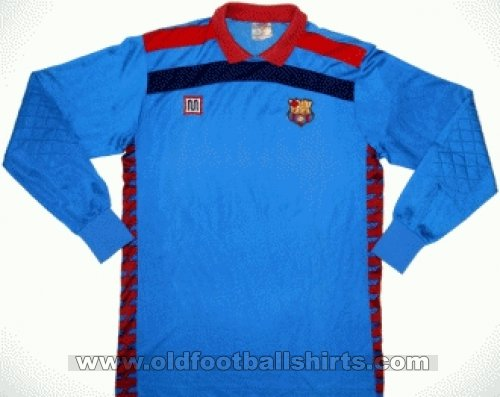 Barcelona Goalkeeper football shirt 1984 - 1989
