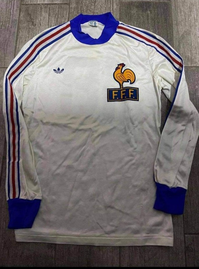 France Away Maillot de foot 1978.