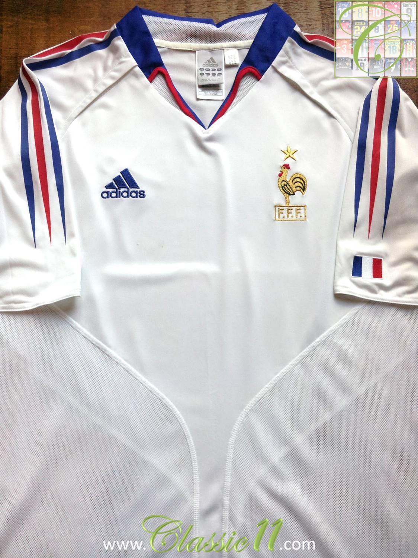 buy popular 73765 7d7a7 France Away Camiseta de Fútbol 2004 - 2006.
