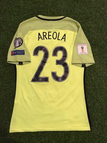 online retailer d56b8 6b56f France Goalkeeper football shirt 2016 - 2017.