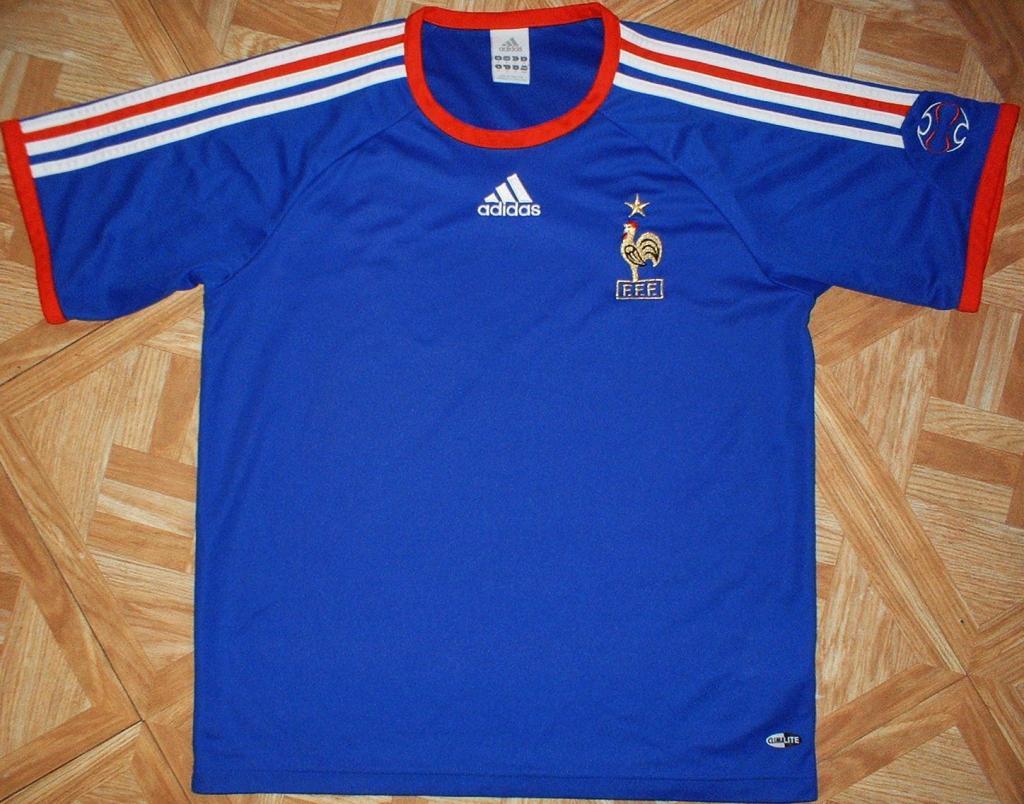 France Home Maillot de foot 2006 - 2007. 29e0b3cb7
