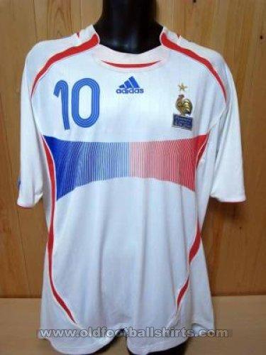 bb4a22630 France Away fotbollströja 2006 - 2008.
