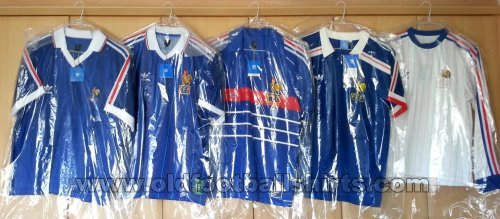 France Retro Replicas voetbalshirt  1982 - 1986
