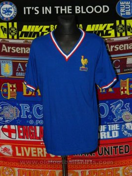 France Retro Replicas baju bolasepak 1966 - 1967