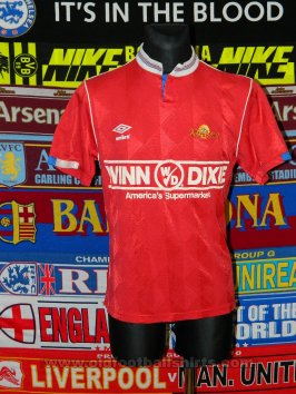 Fort Lauderdale Strikers Away baju bolasepak 1988 - ?