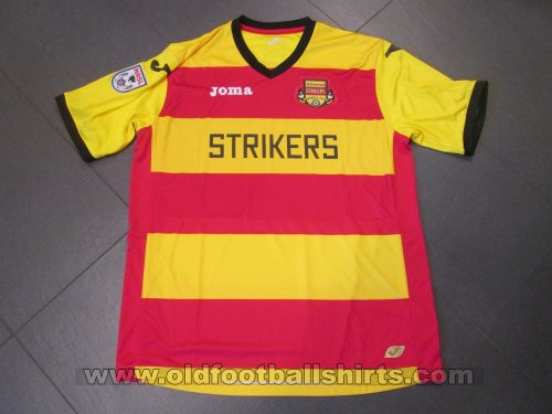 Fort Lauderdale Strikers Home football shirt 2012