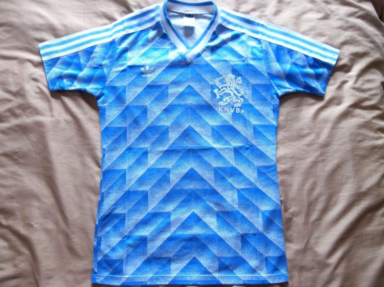 Netherlands Away football shirt 1988 - 1989.