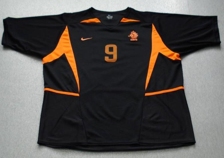 Netherlands Away Football Shirt 2002 2004