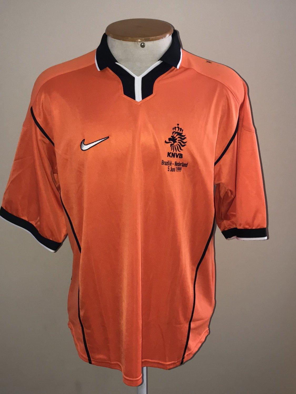 timeless design cd398 2bef7 Netherlands Home futbol forması 1998 - 2000.