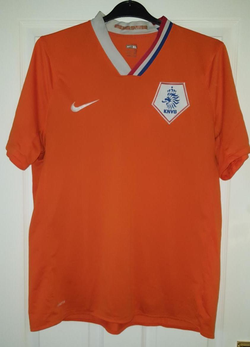 meet b886d 39aca Netherlands Home football shirt 2008 - 2010.