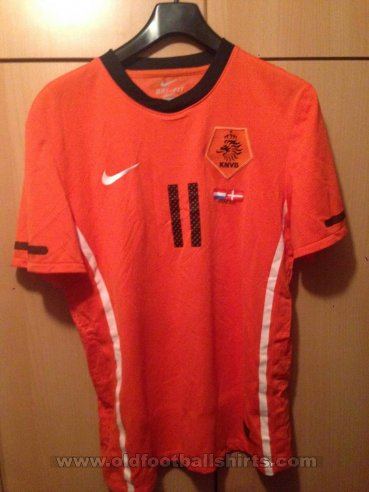 Netherlands Home football shirt 2010 - 2012