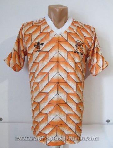 d1102da7468 Netherlands Home Maillot de foot 1988 - 1990.