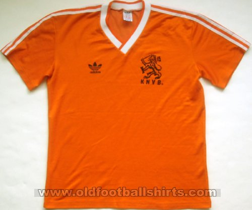 Netherlands Home football shirt 1985 - 1988