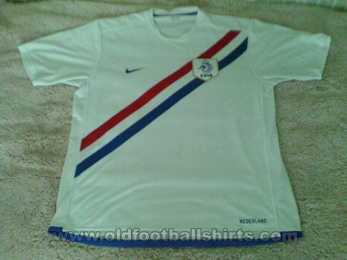 Netherlands Away football shirt 2006 - 2007
