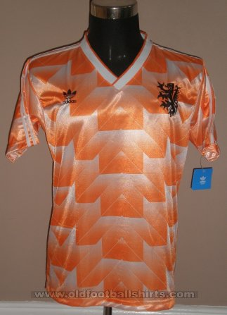 Netherlands Retro Replicas football shirt 1988