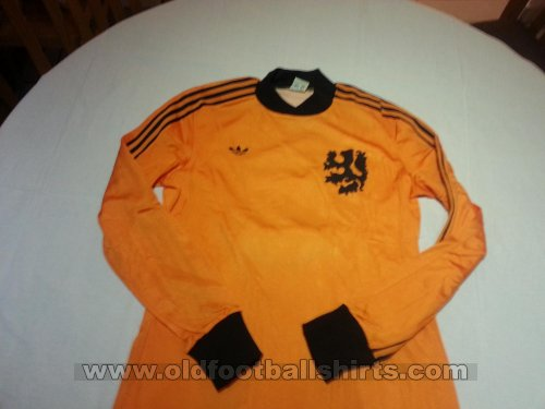 Netherlands Home football shirt 1977 - 1978