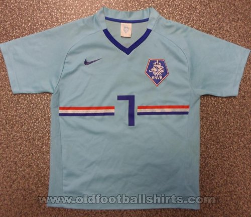 Netherlands Away football shirt 2008 - 2010